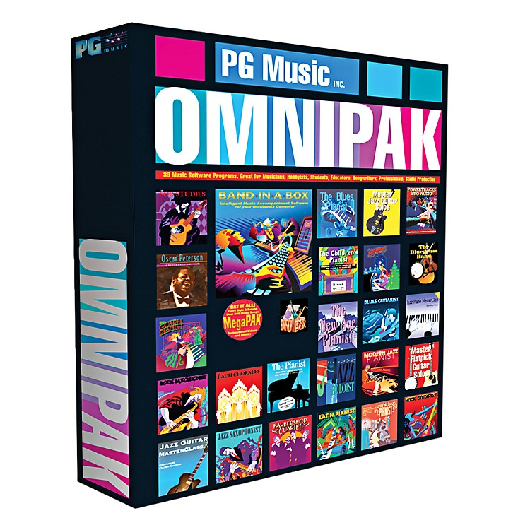PG Music Band-in-a-Box 2013 OmniPAK (Win-Portable Hard Drive)