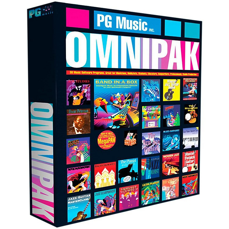 PG Music Band-in-a-Box 2014 OMNIPAK (Win-Portable Hard Drive)