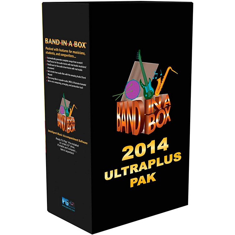 PG MusicBand-in-a-Box 2014 UltraPlusPAK (Win-Portable Hard Drive)