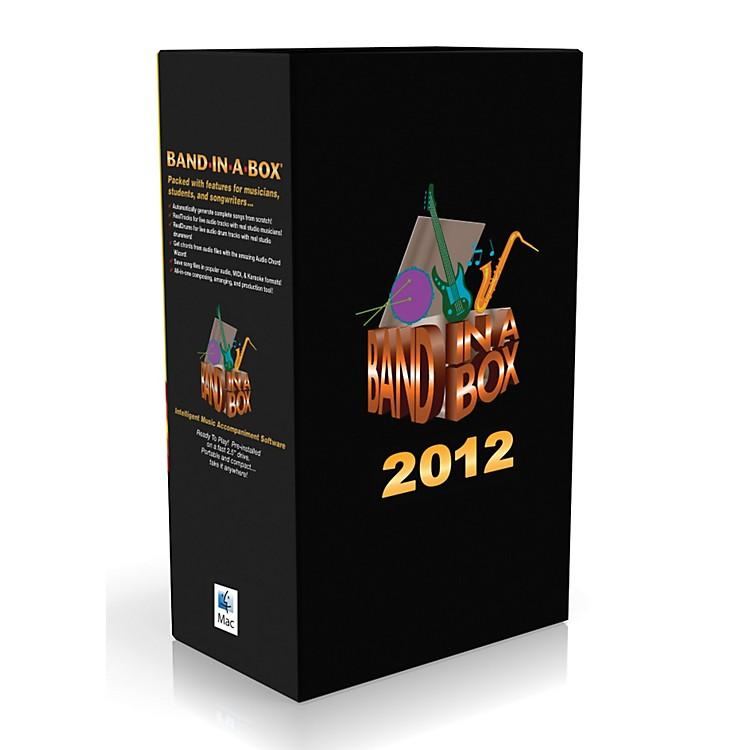 PG MusicBand-in-a-Box Pro 2012 MAC EverythingPAK (Mac-Hard Drive)