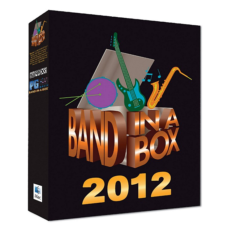 PG Music Band-in-a-Box Pro 2012 MAC (Mac-DVD)