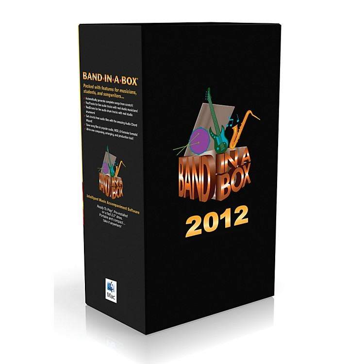 PG Music Band-in-a-Box Pro 2012 MAC MegaPAK (Mac-DVD)