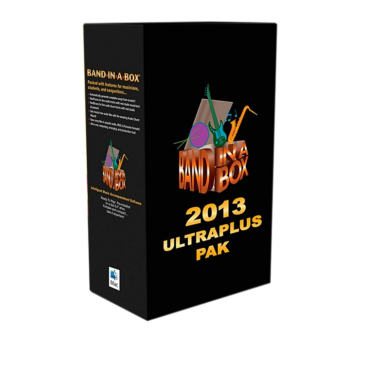 PG Music Band-in-a-Box Pro 2013 MAC UltraPlusPAK (Mac-Hard Drive)