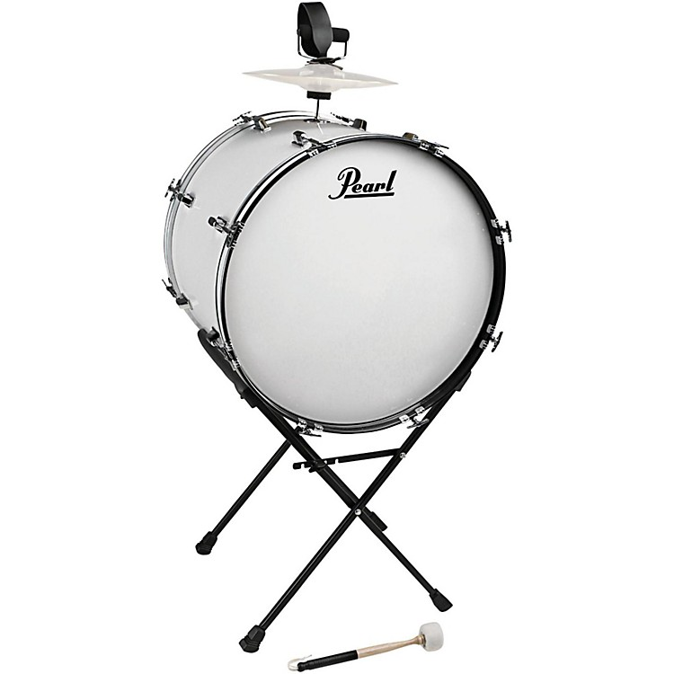 Pearl Banda Tambora Bass Drum and Stand 24 inch x 18 inch