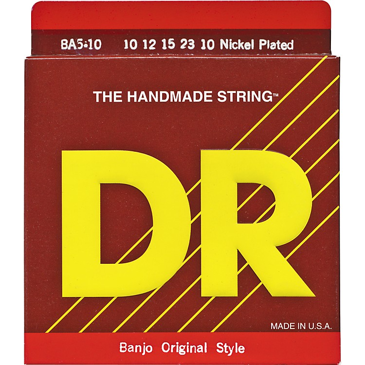 DR Strings Banjo 5 String 10, 12, 15, 23, 10
