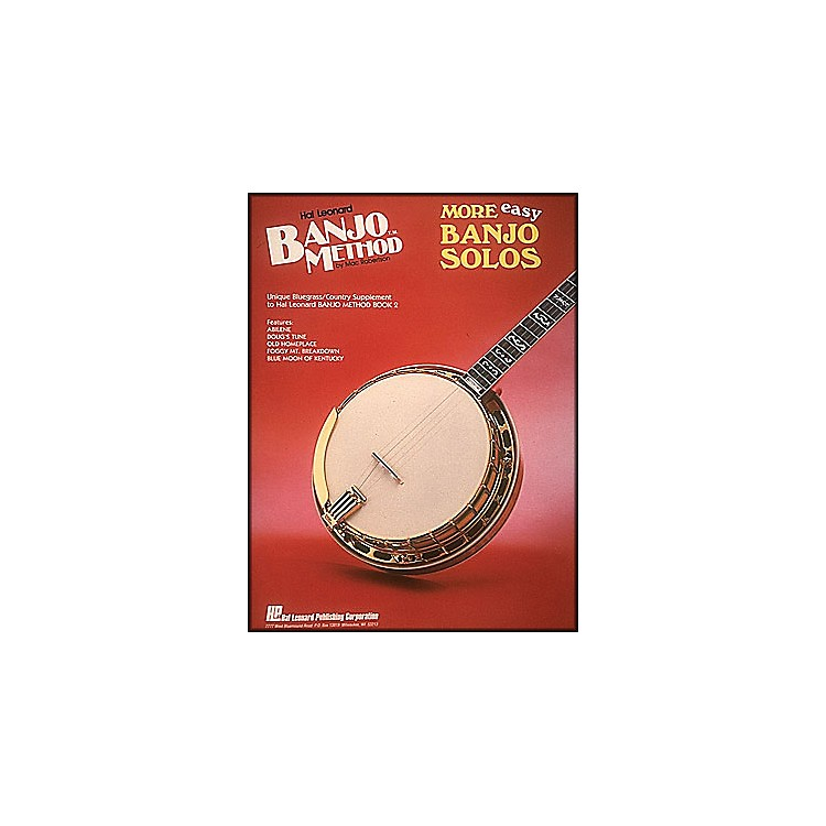 Hal LeonardBanjo Method More Easy Banjo Solos