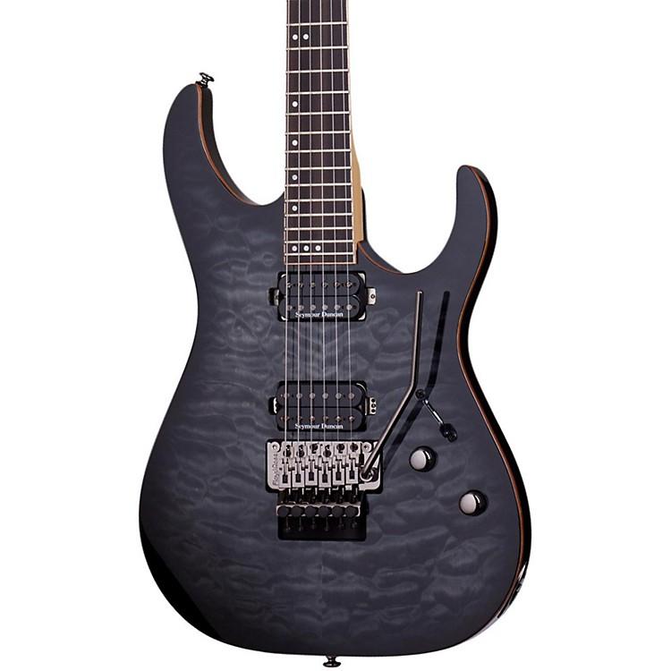 Schecter Guitar ResearchBanshee-6 Passive Electric Guitar with Floyd RoseTrans Black Burst