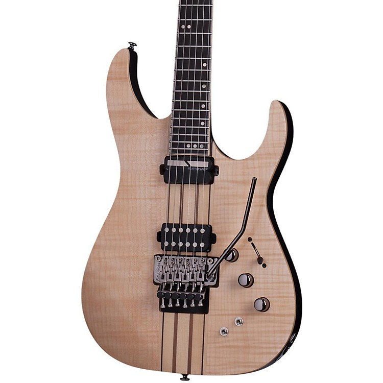Schecter Guitar ResearchBanshee Elite-6 with Floyd Rose and Sustainiac Electric GuitarGloss Natural