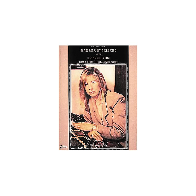 Cherry LaneBarbra Streisand - Collection Greatest Hits . . . And More Piano, Vocal Guitar Songbook