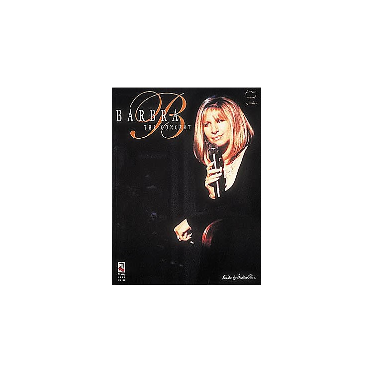 Cherry Lane Barbra Streisand in Concert Book