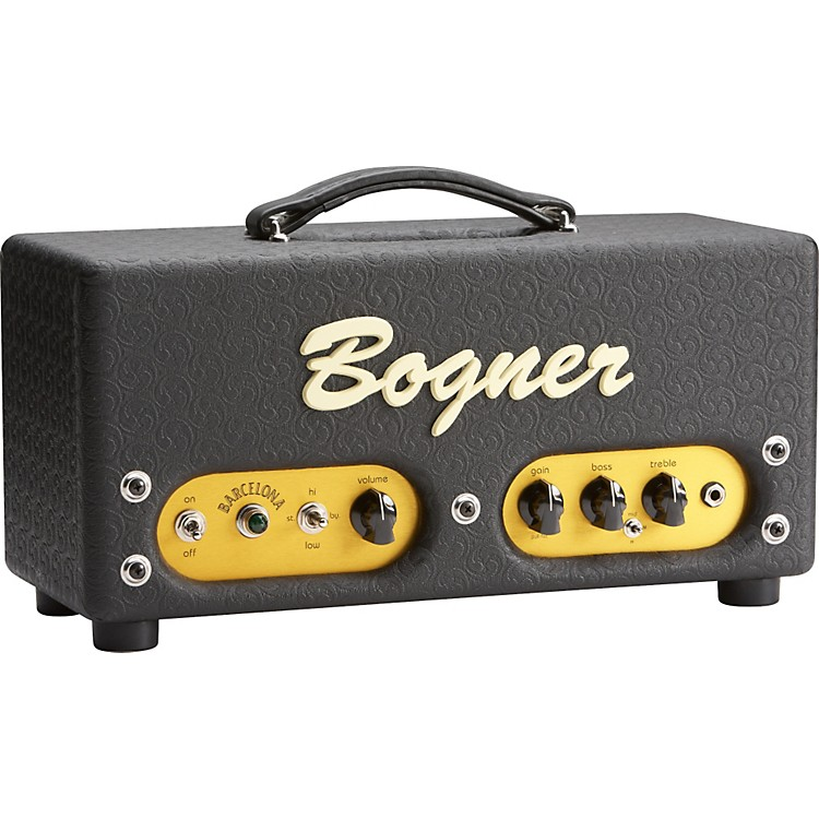 Bogner Barcelona 40W Tube Guitar Amp Head Comet Black