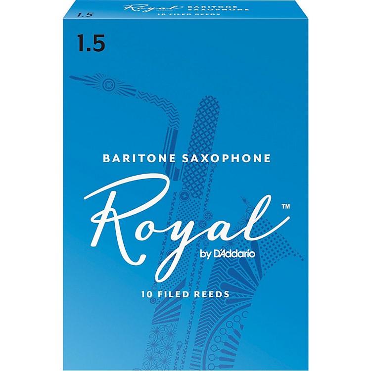 Rico RoyalBaritone Saxophone Reeds, Box of 10Strength 1.5