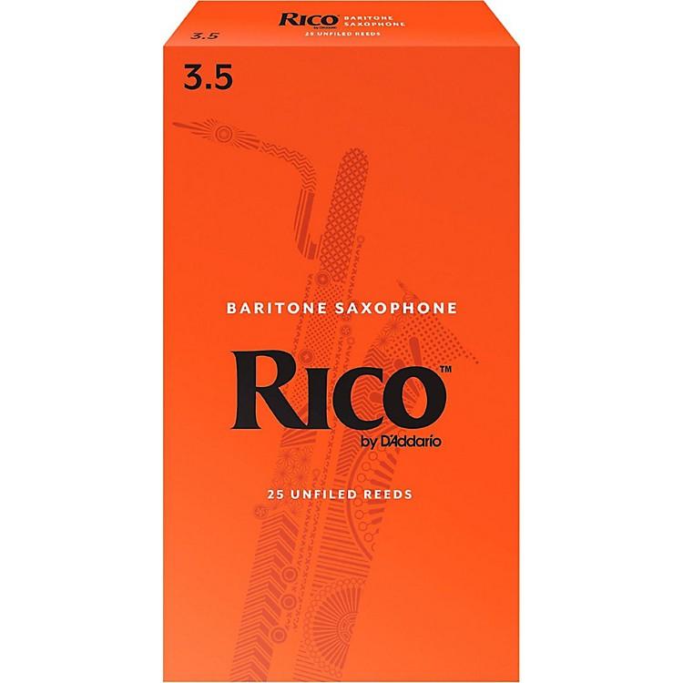 RicoBaritone Saxophone Reeds, Box of 25Strength 3.5