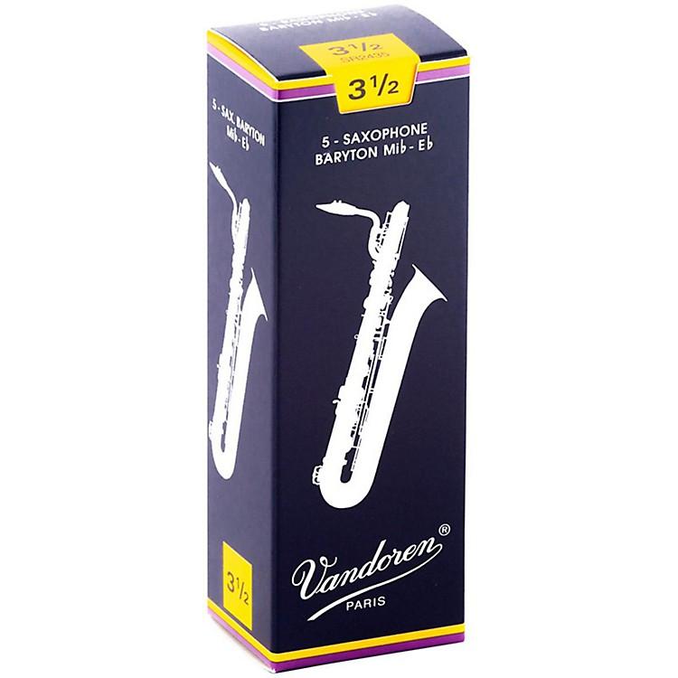 VandorenBaritone Saxophone ReedsStrength 3.5Box of 5