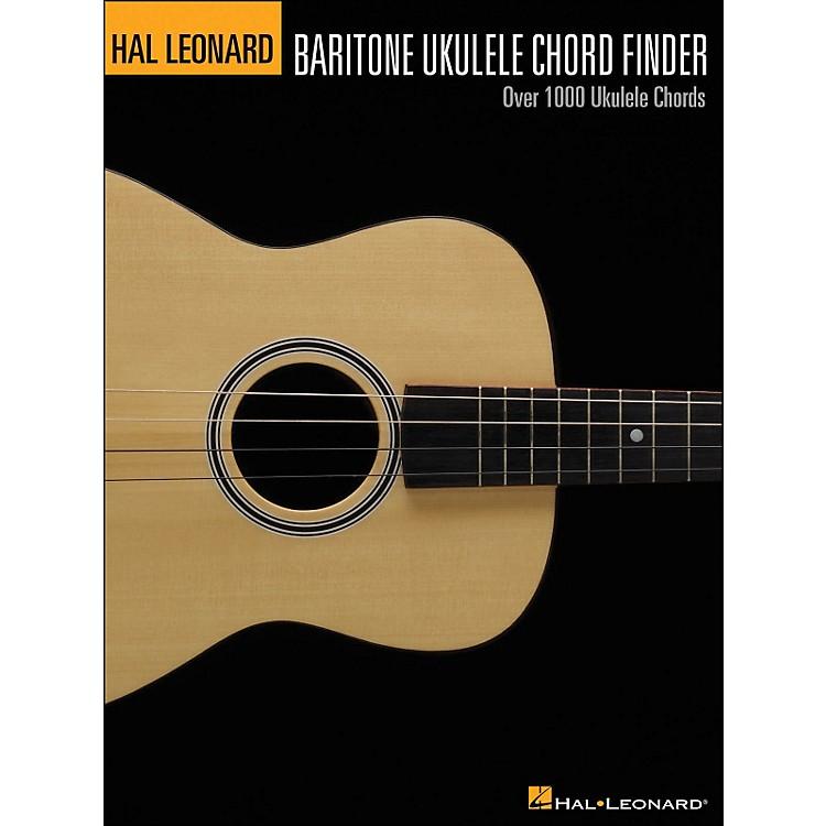 Hal LeonardBaritone Ukulele Chord Finder (9X12 Size)