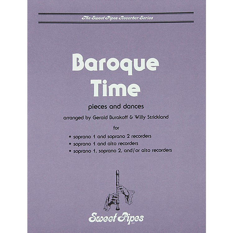 Sweet PipesBaroque Time for Recorder