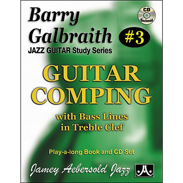Jamey AebersoldBarry Galbraith Guitar Comping Book/CD