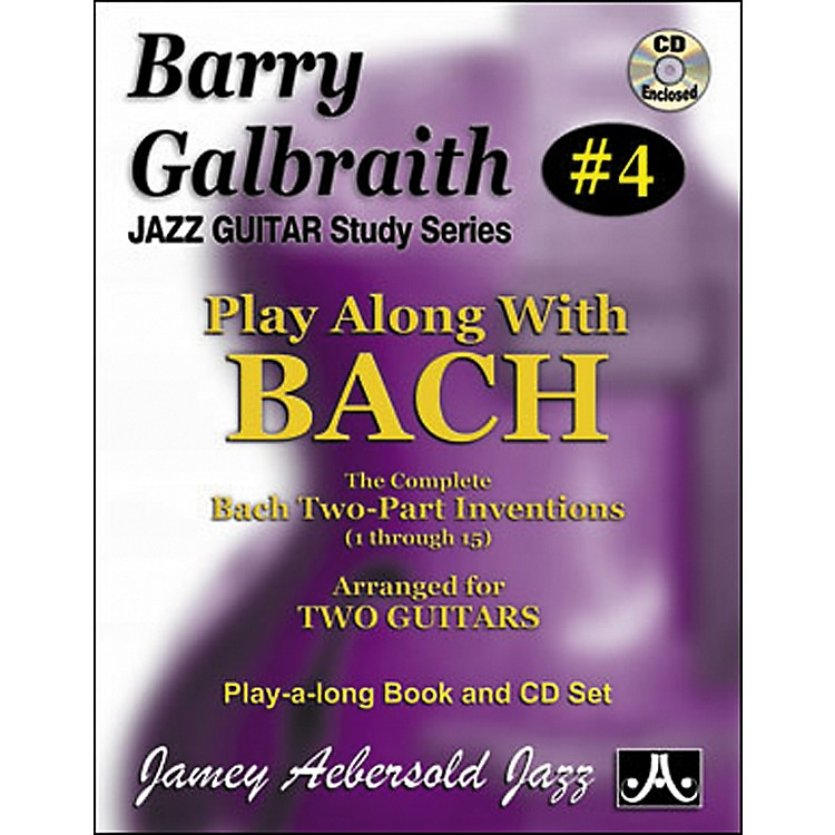 Jamey AebersoldBarry Galbraith Play Along with Bach Book/CD
