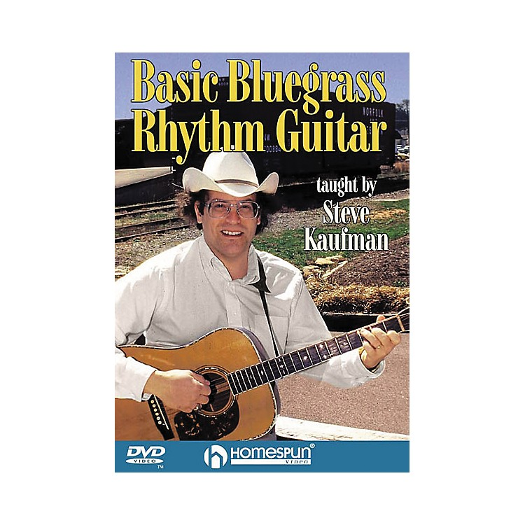 Homespun Basic Bluegrass Rhythm Guitar (DVD)