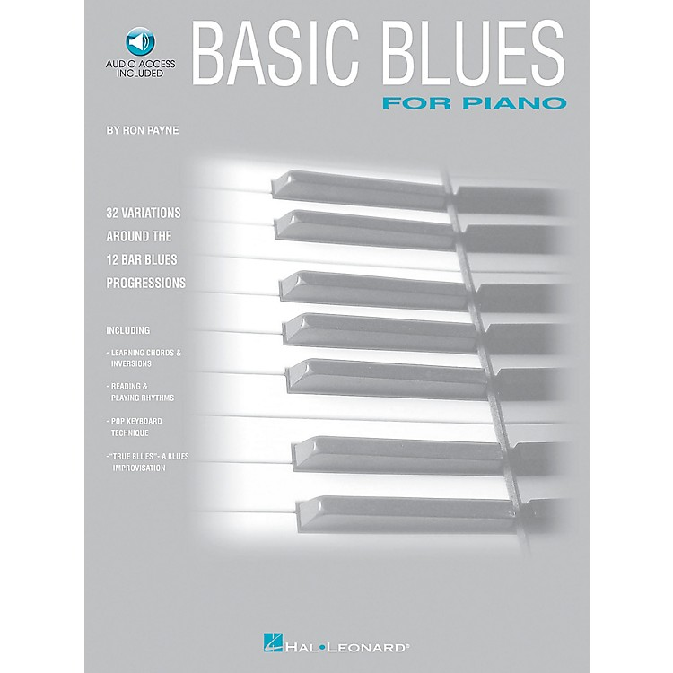 Hal Leonard Basic Blues for Piano with CD