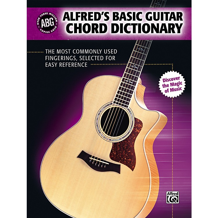 Alfred Basic Guitar Chord Dictionary (Book)