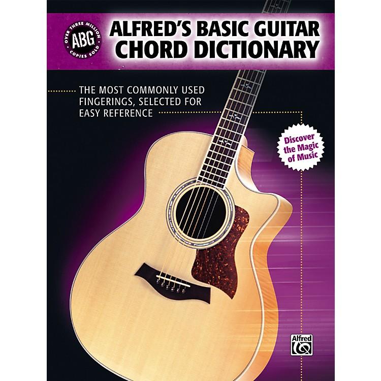 AlfredBasic Guitar Chord Dictionary (Book)