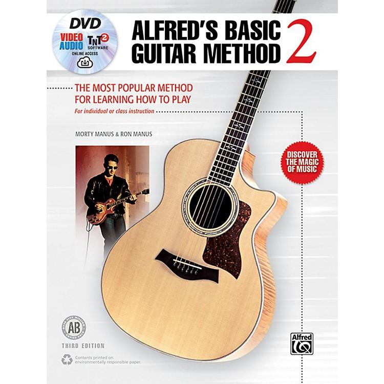 AlfredBasic Guitar Method 2 3rd Edition Book, DVD & Online Audio & Video