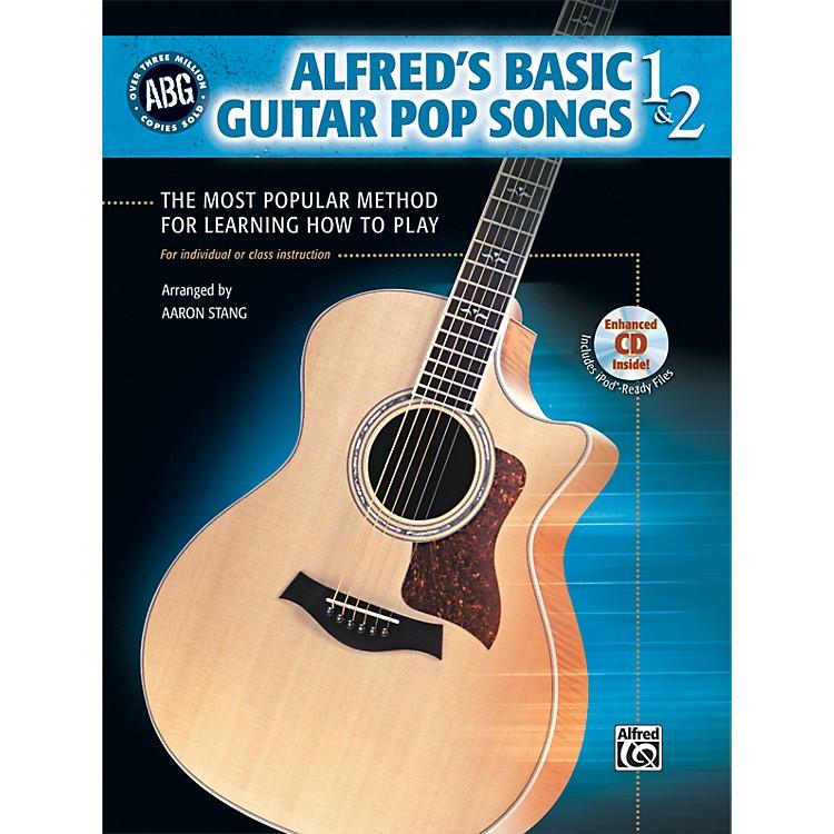 AlfredBasic Guitar Pop Songs 1 and 2 (Book/CD)