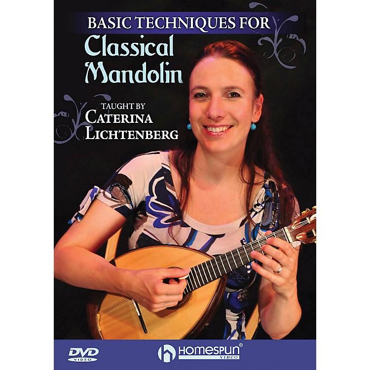 Hal LeonardBasic Techniques Of Classical Mandolin DVD
