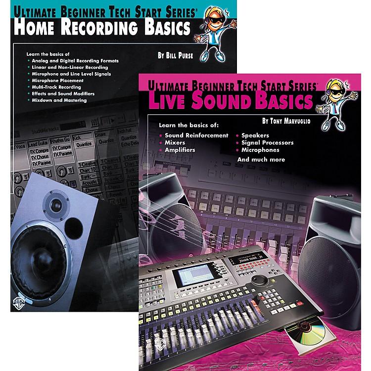 AlfredBasics of Live Sound & Home Recording