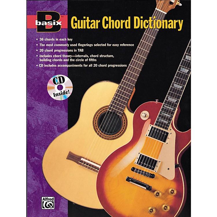 AlfredBasix Guitar Chord Dictionary Book & CD