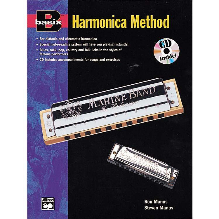 AlfredBasix Harmonica Method Book w/CD