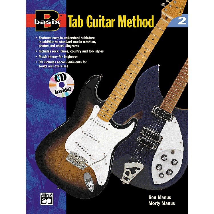 AlfredBasix TAB Guitar Method #2 Book/CD