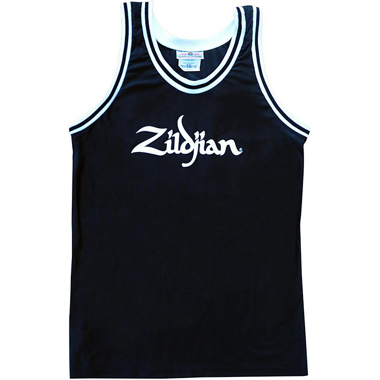 Zildjian Basketball Jersey Black XX Large