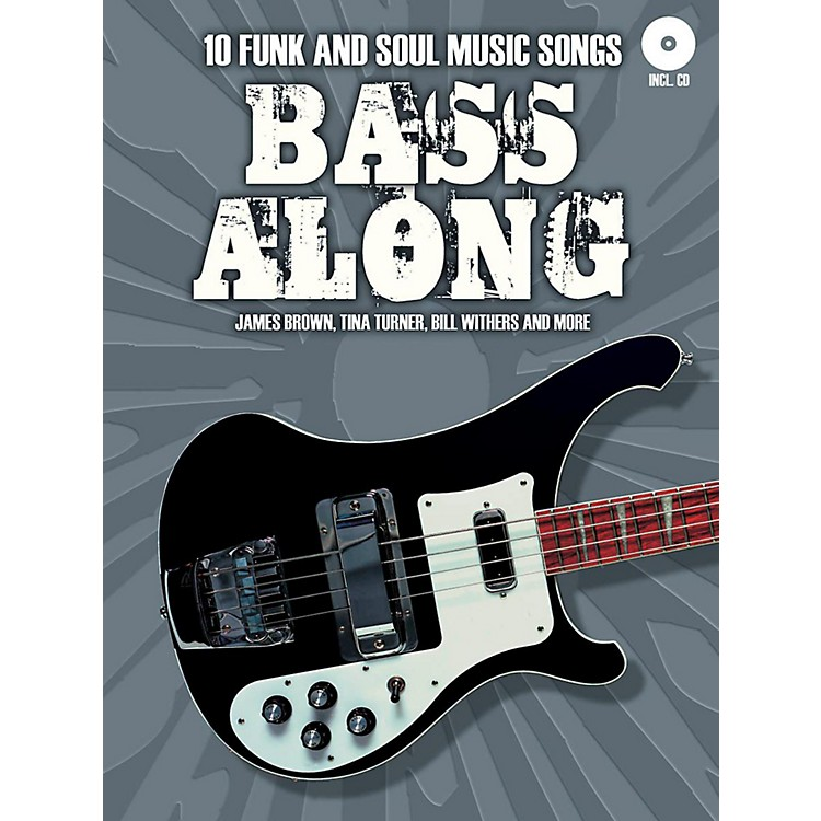 Music SalesBass Along - 10 Funk and Soul Music Songs Book/CD