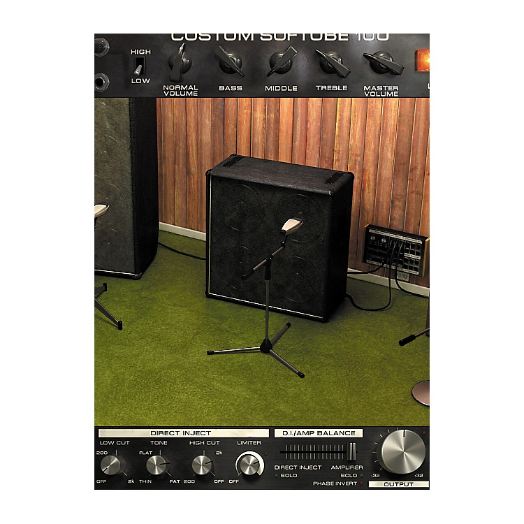 SoftubeBass Amp Room Plug-in - NativeSoftware  Download