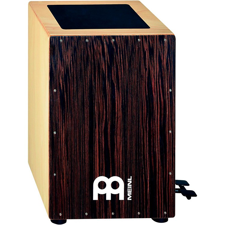 MeinlBass Cajon with Foot Pedal and Ebony Frontplate