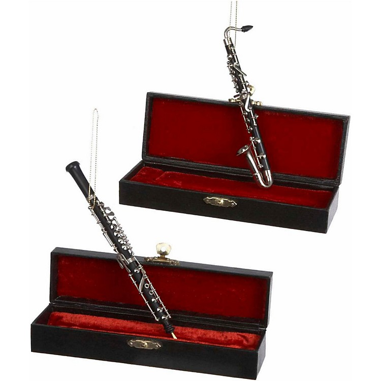 Kurt S. Adler Bass Clarinet/Oboe Ornaments