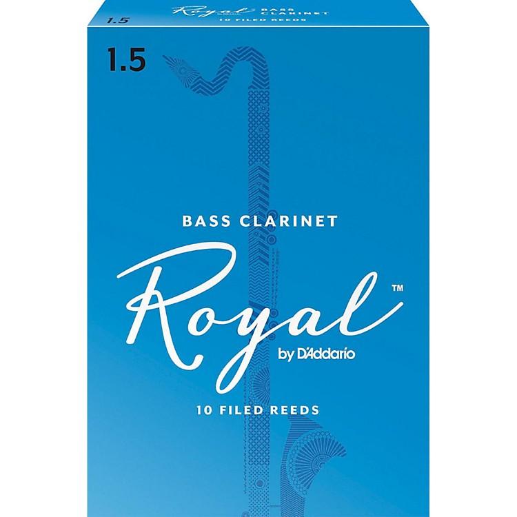 Rico RoyalBass Clarinet Reeds, Box of 10Strength 1.5