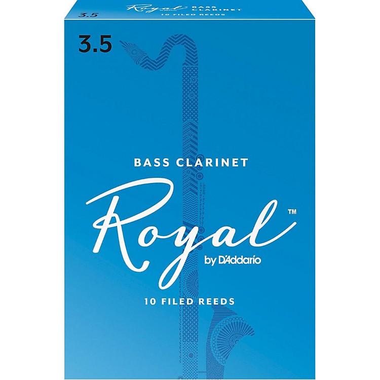 Rico RoyalBass Clarinet Reeds, Box of 10Strength 3.5
