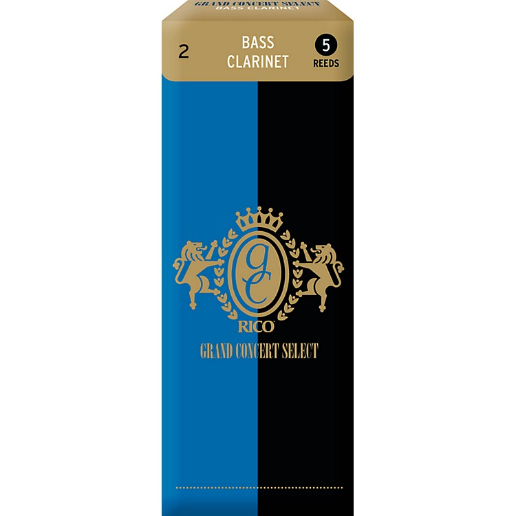 Grand Concert Select Bass Clarinet Reeds Strength 2