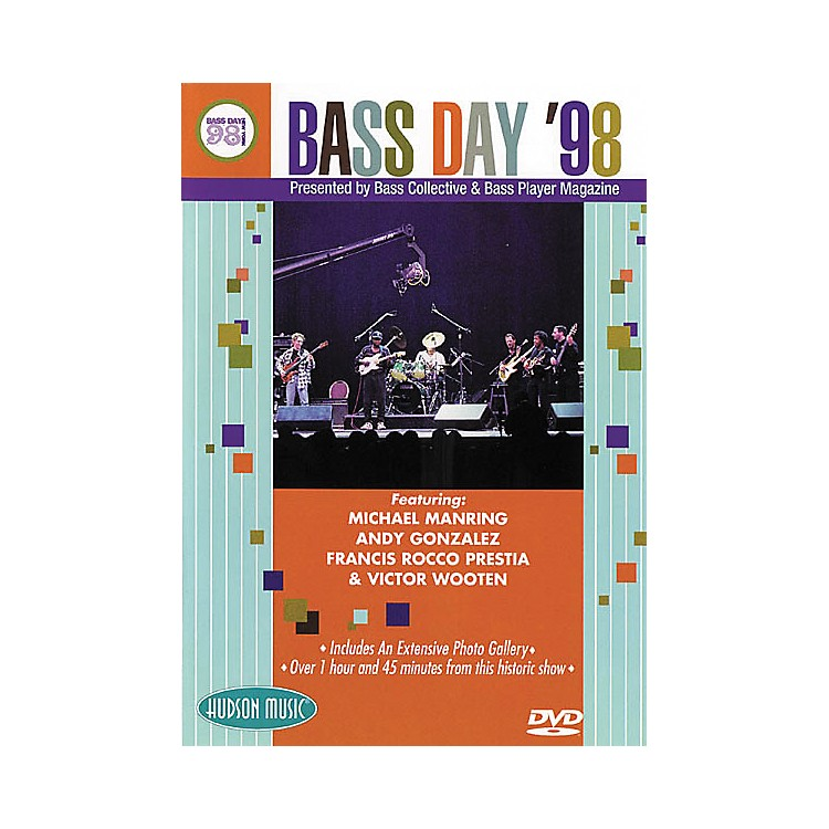 Hudson Music Bass Day '98 (DVD)