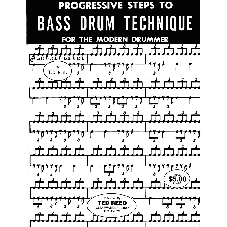 AlfredBass Drum Technique for Drummers Book