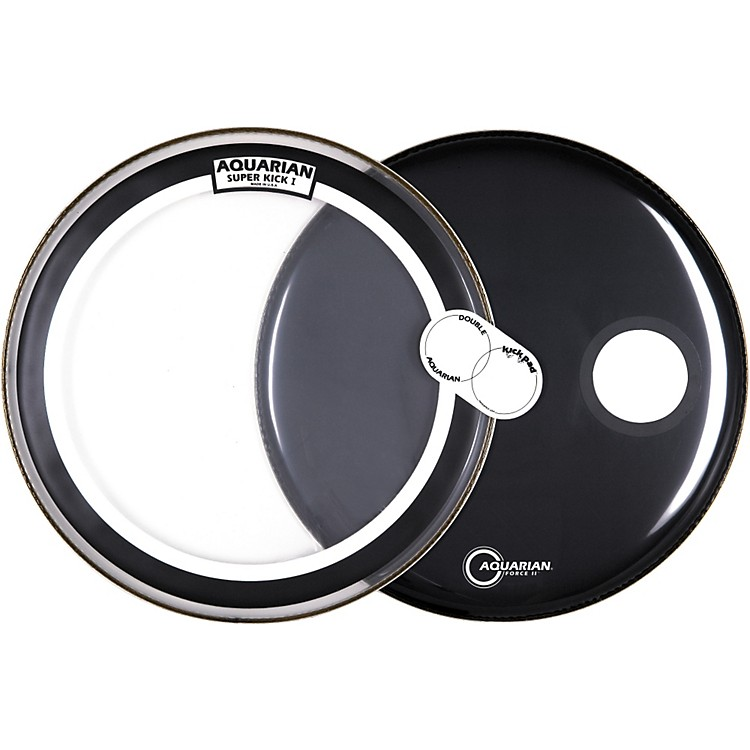Aquarian Bass Drumhead Pack  22 in.