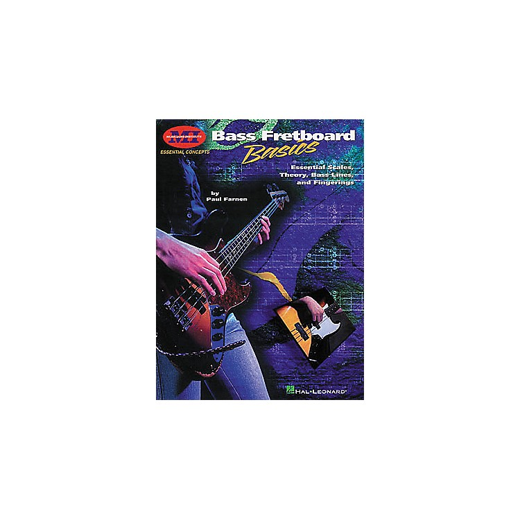 Hal LeonardBass Fretboard Basics Book