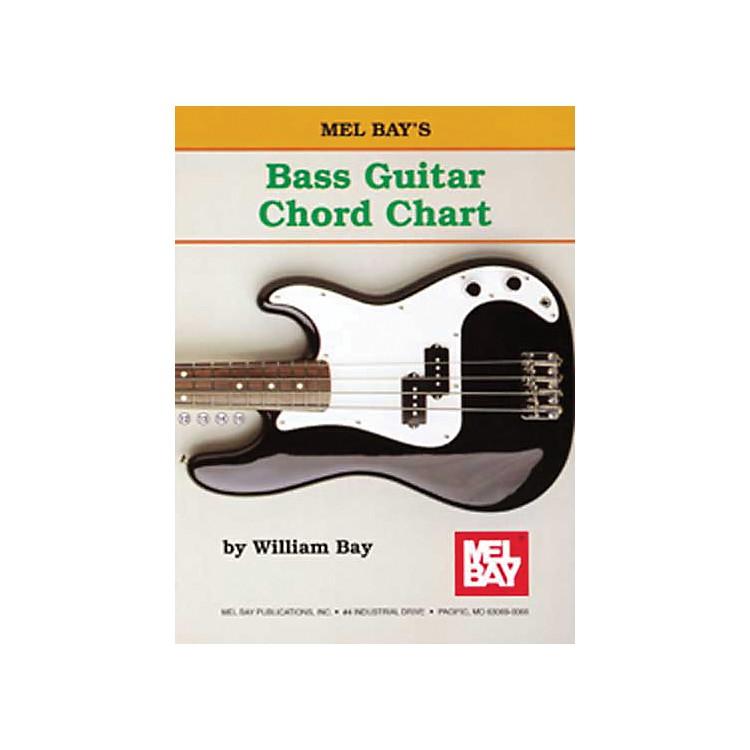 Mel BayBass Guitar Chord Chart