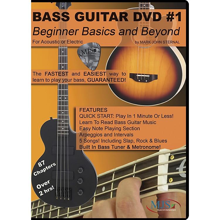 MJS Music PublicationsBass Guitar DVD #1 - Beginner Basics and Beyond