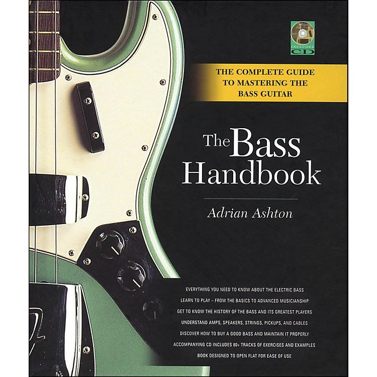 Backbeat BooksBass Handbook - A Complete Guide To Mastering The Bass Guitar