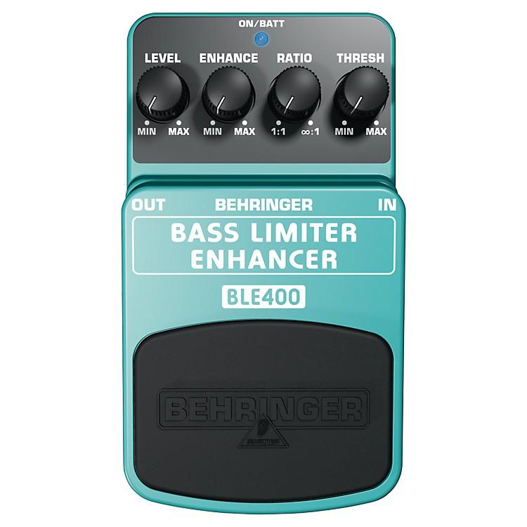 BehringerBass Limiter Enhancer BLE400 Bass Effects Pedal