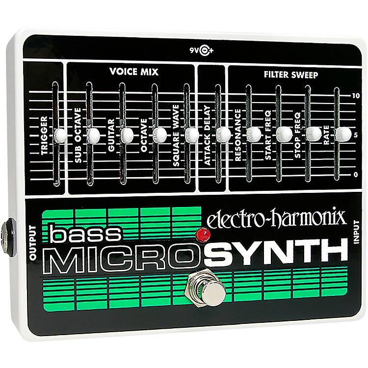 Electro-HarmonixBass MicroSynth Effects Pedal